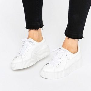 Puma x Rihanna Fenty Creepers Sneakers White